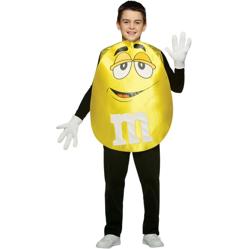Yellow M&M'S Teen Poncho