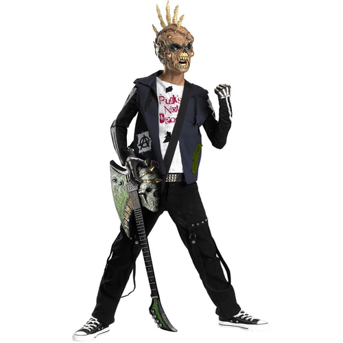 Zombie Punk Child Costume