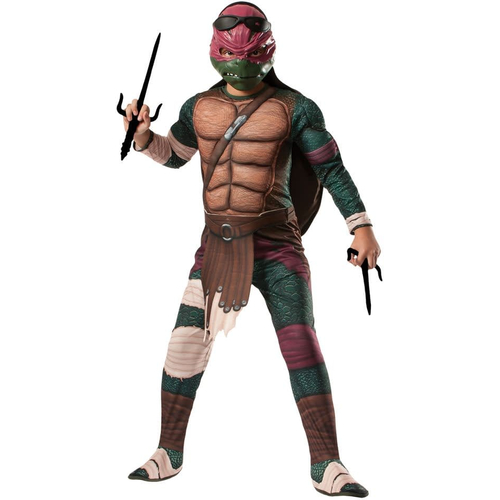 Raphael Ninja Turtle Costume For Kids