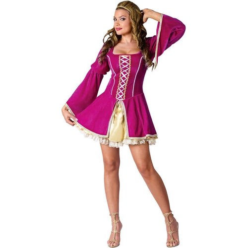 Hot Renaissance Girl Adult Costume