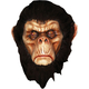 Bad Brown Chimp Latex Mask For Adults