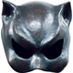 Cat-Girl Latex Half Mask For Adults