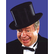 Top Hat Collapsible Black Xl For All