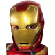 Iron Man 1/2 Mask Child