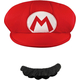 Mario Hat And Moustache For Adults