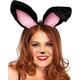 Bunny Ears Plush Black