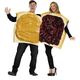 Peanut Butter/Jelly Couple Costume Adult