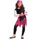 Skull Pirate Girls Costume