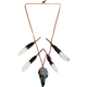 Native Warrior Skull Necklace