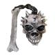 Skull And Bone Flail Latex