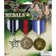 Combat Hero Medals  3 Set