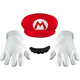 Mario Accessory Kit Adult