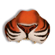 Nose Jungle Tiger W Elastic