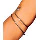 Spiral Snake Armband
