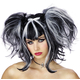 Wig For Bad Fairy Black White